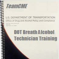 Training: Alcohol: DOT Breath Alcohol Technician Training