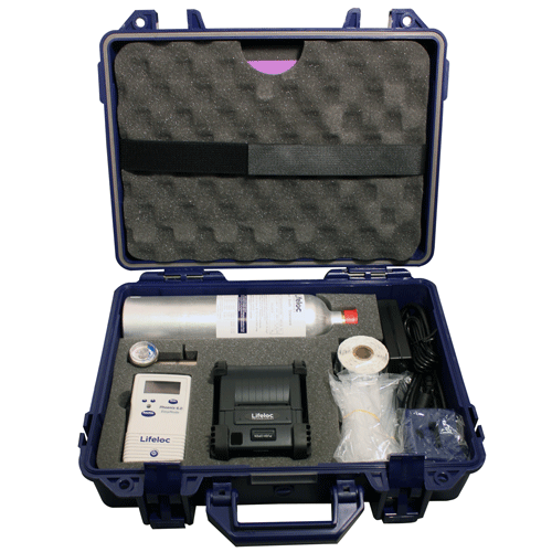 Equipment: Alcohol: Lifeloc Phoenix 6.0 BT Evidential Alcohol Tester GK Kit