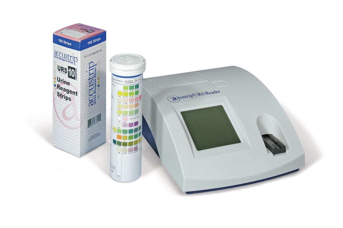 Equipment: Exam: Urinalysis- Jant Reader/Analyser