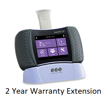 Spirometry: EasyOne Air 2-year Warranty Extension